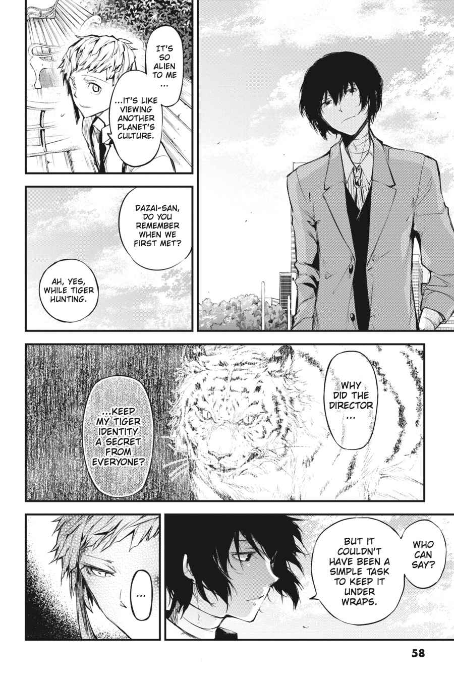 Bungou Stray Dogs Chapter 39 Page 34