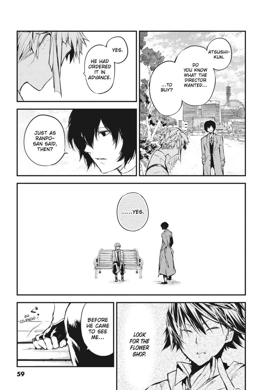 Bungou Stray Dogs Chapter 39 Page 35