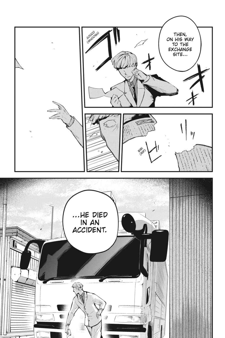 Bungou Stray Dogs Chapter 39 Page 37