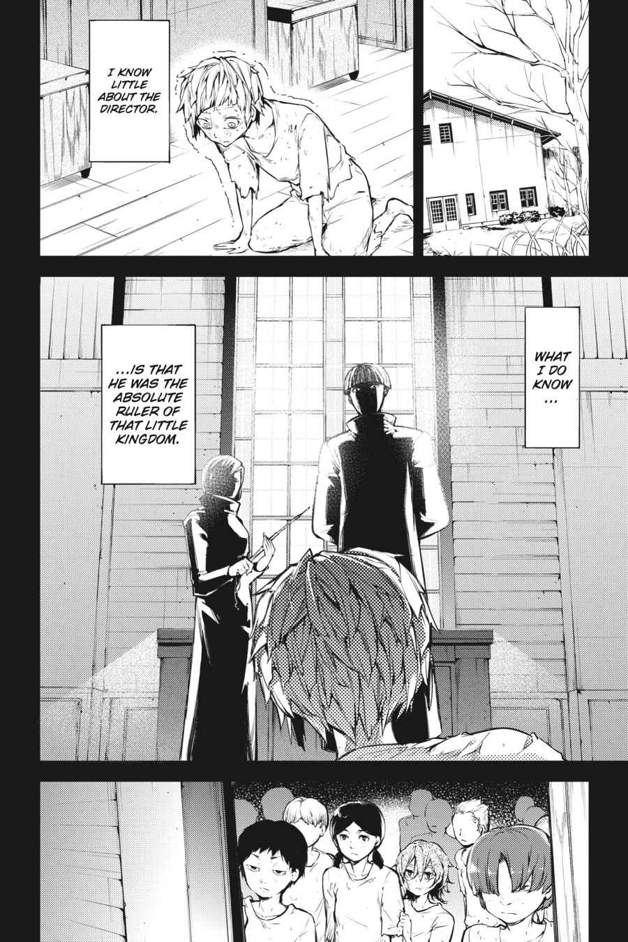 Bungou Stray Dogs Chapter 39 Page 8