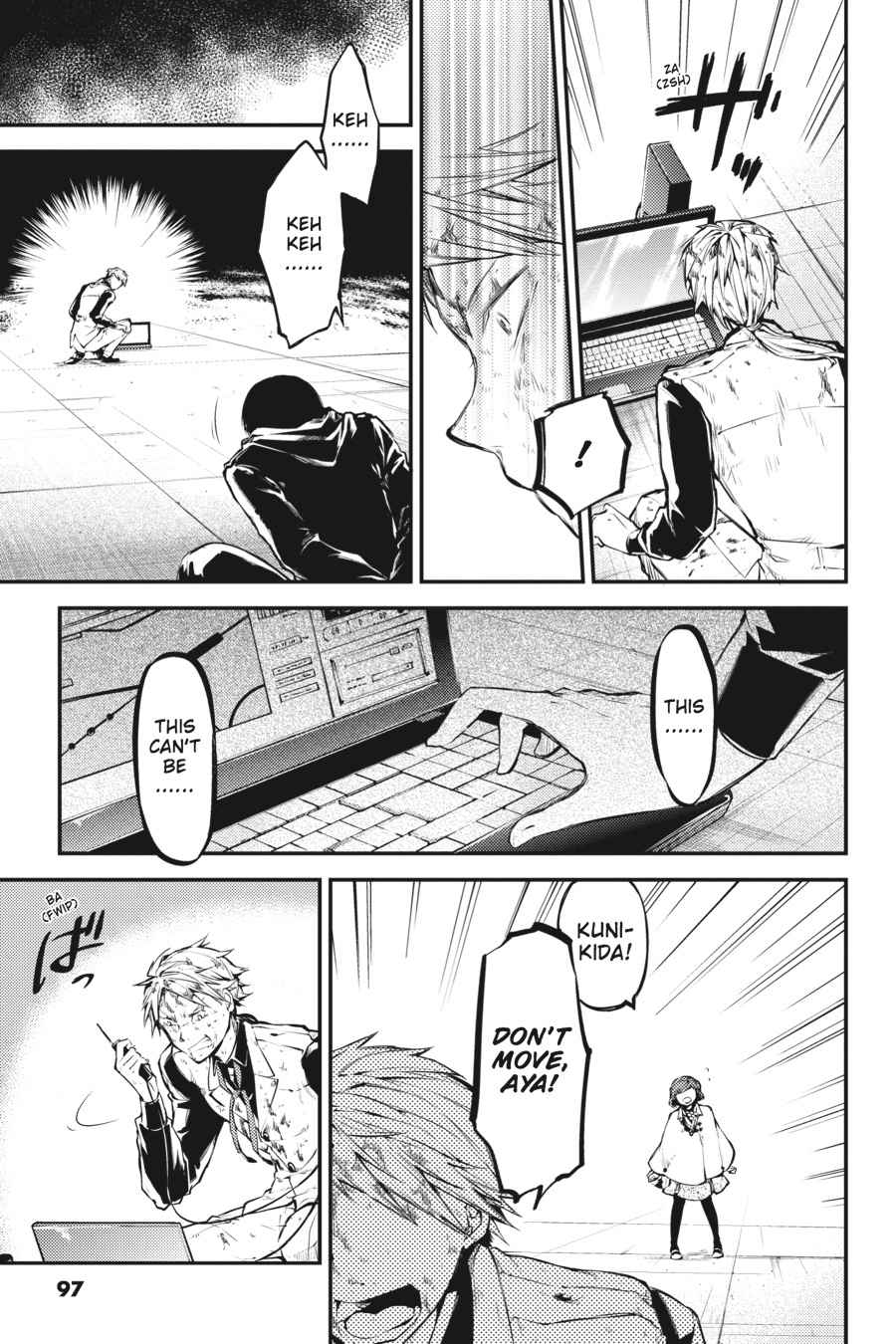 Bungou Stray Dogs Chapter 40 Page 31