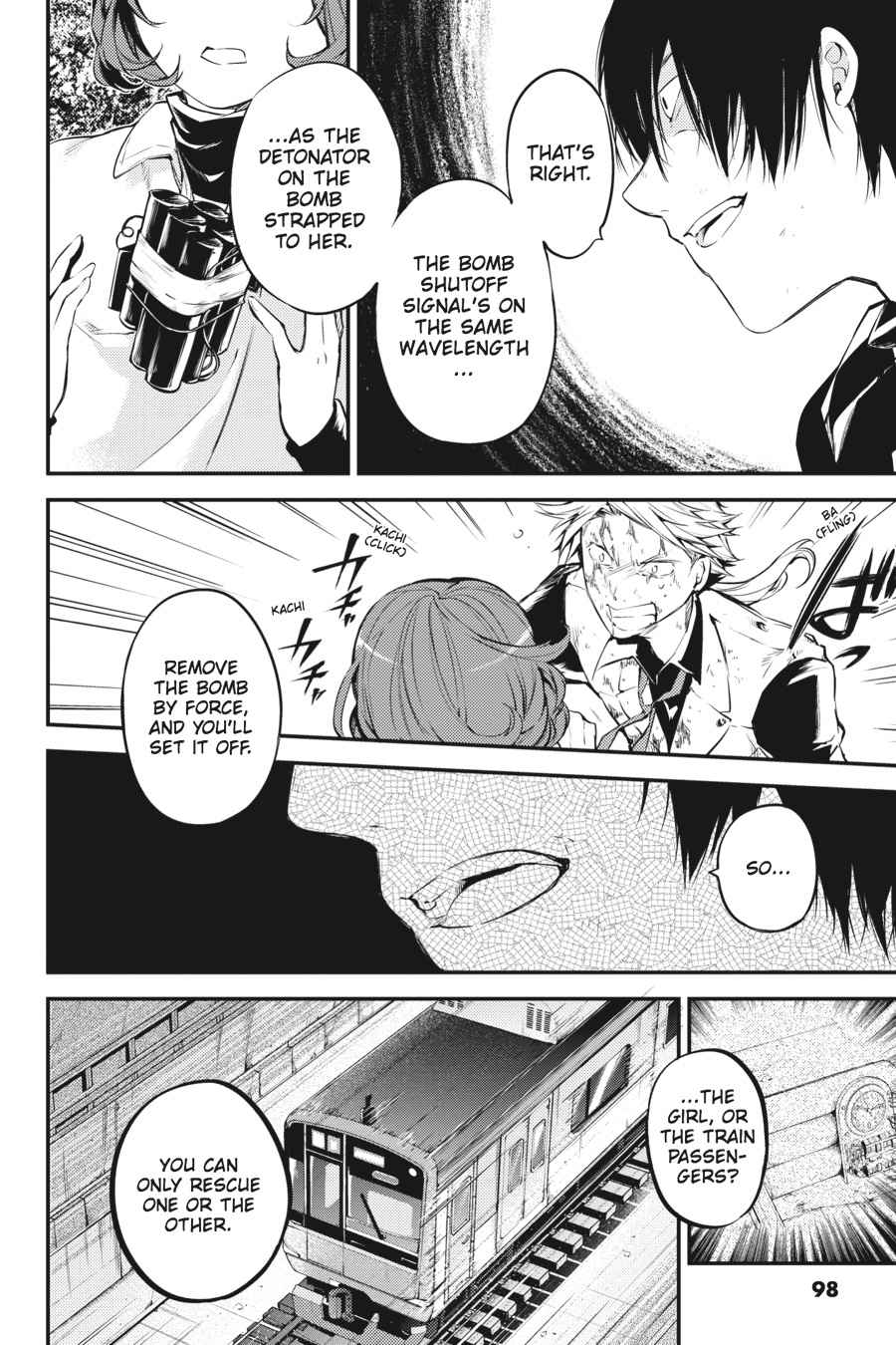 Bungou Stray Dogs Chapter 40 Page 32