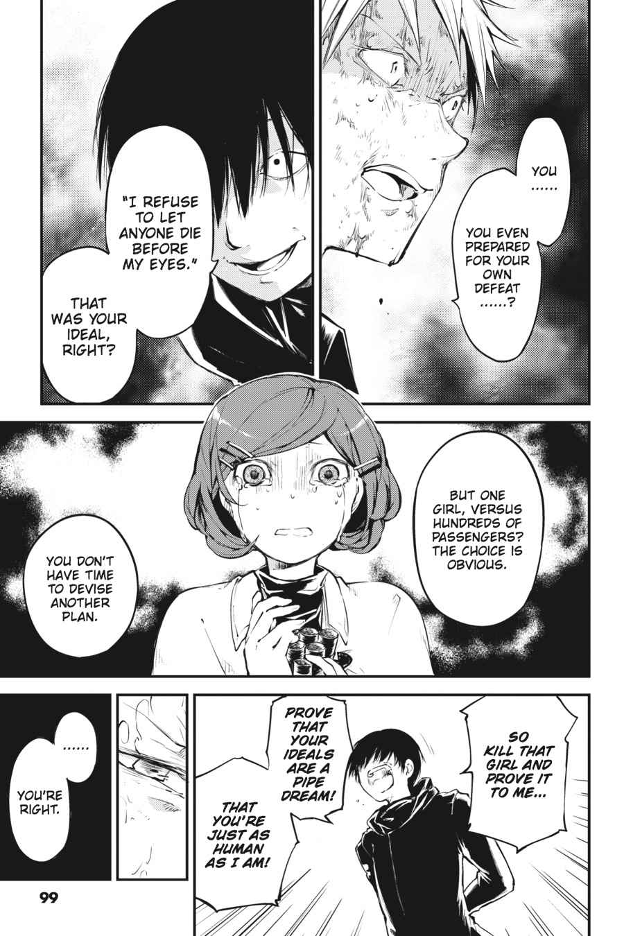 Bungou Stray Dogs Chapter 40 Page 33