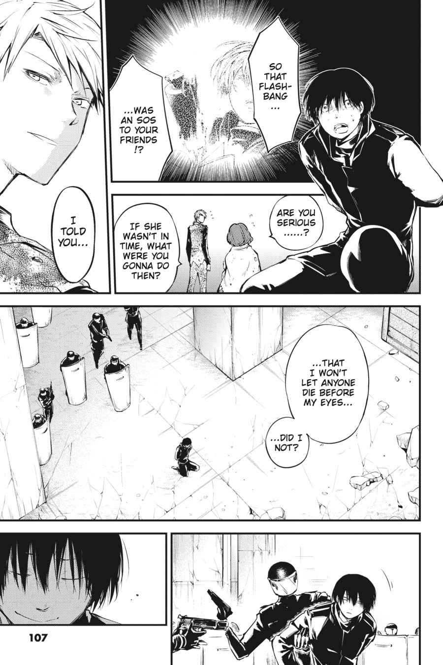 Bungou Stray Dogs Chapter 40 Page 40