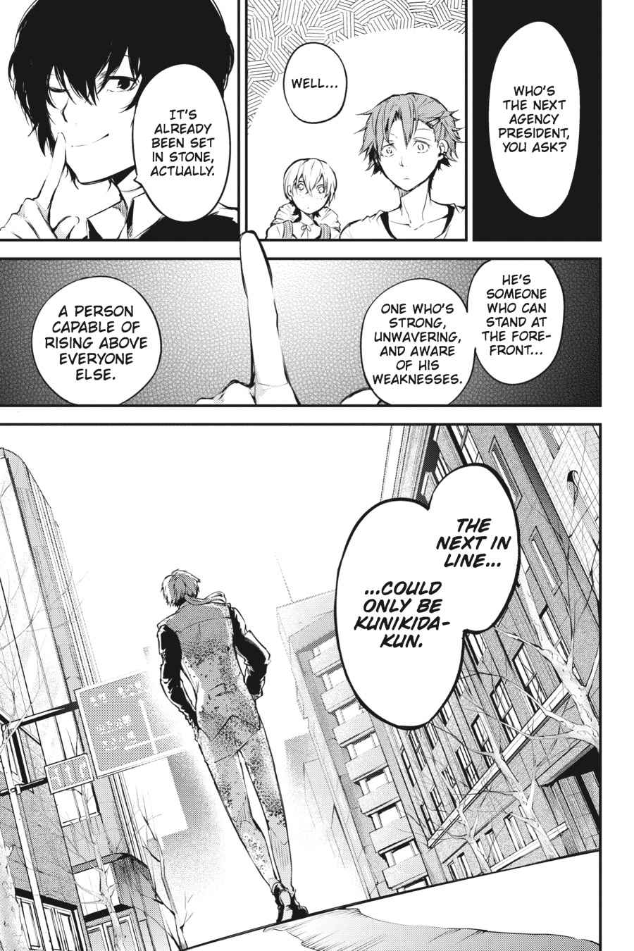 Bungou Stray Dogs Chapter 40 Page 42