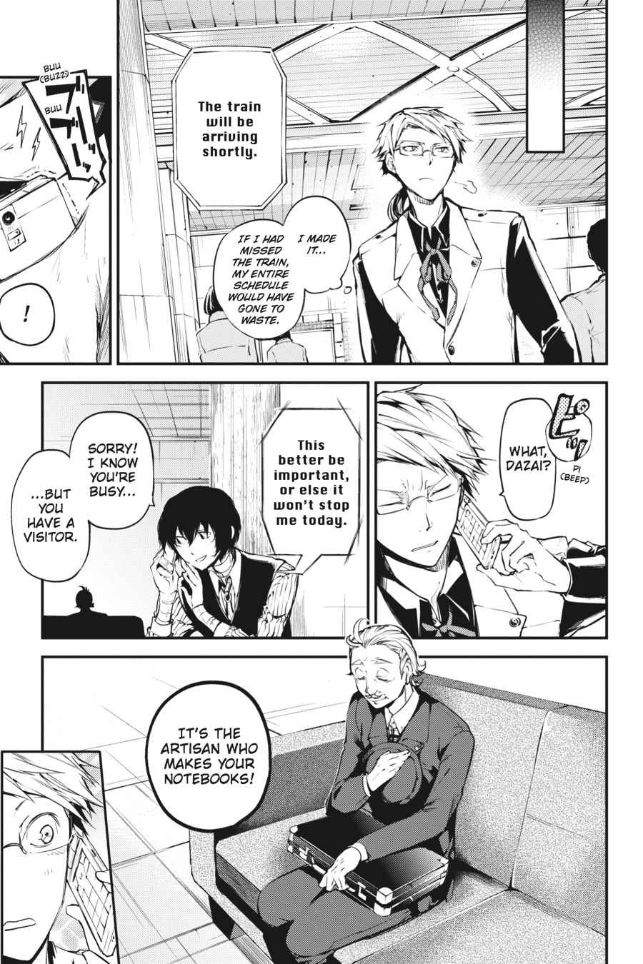 Bungou Stray Dogs Chapter 40 Page 5