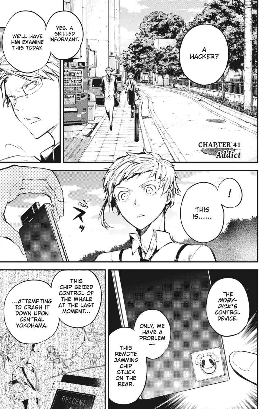 Bungou Stray Dogs Chapter 41 Page 1