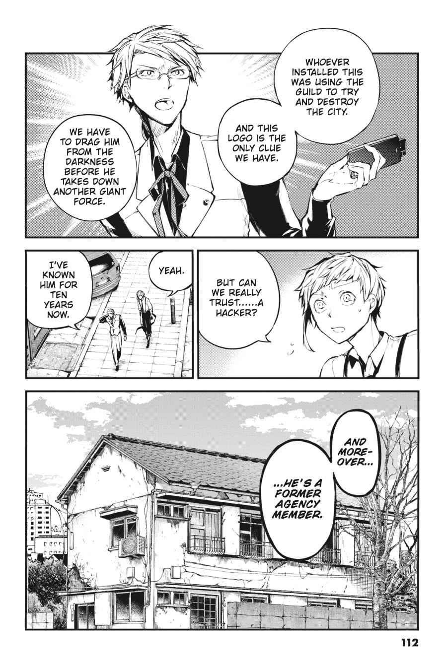 Bungou Stray Dogs Chapter 41 Page 2