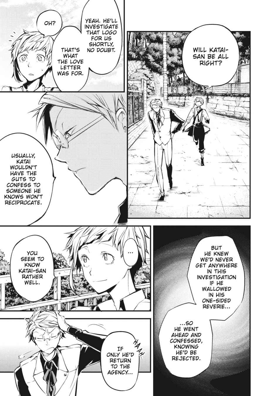 Bungou Stray Dogs Chapter 41 Page 34