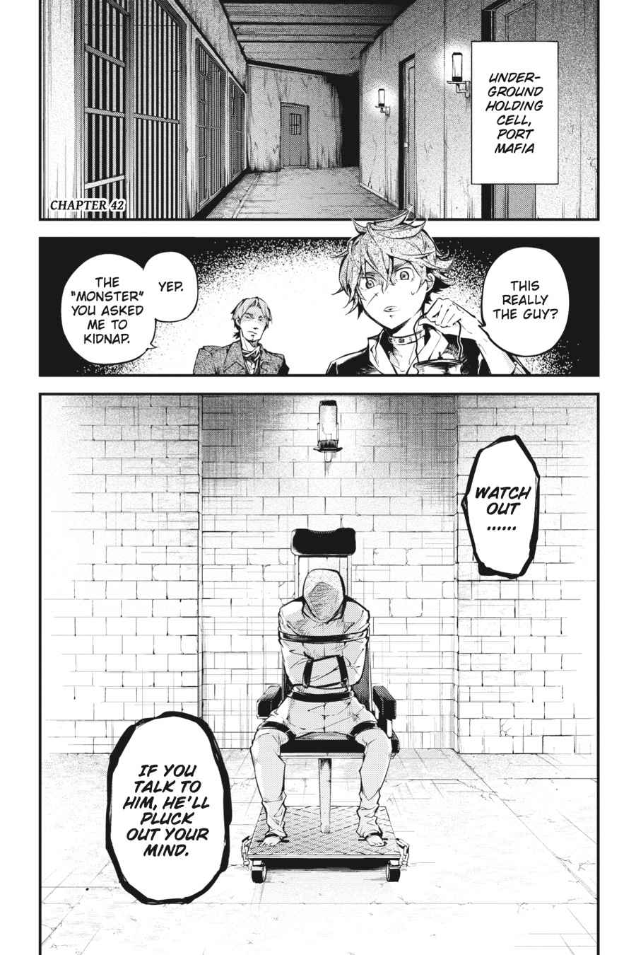 Bungou Stray Dogs Chapter 41 Page 36