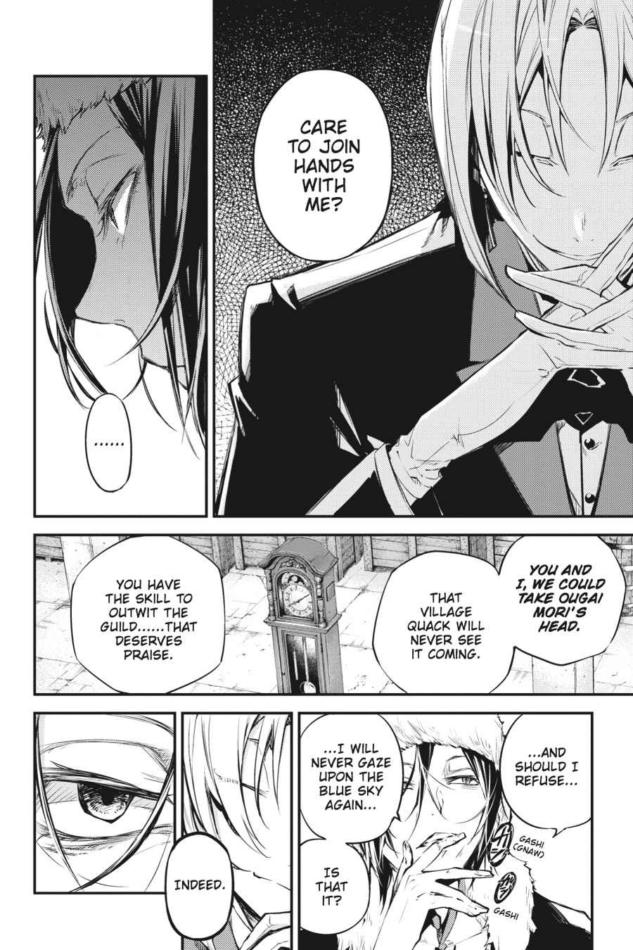 Bungou Stray Dogs Chapter 42 Page 10