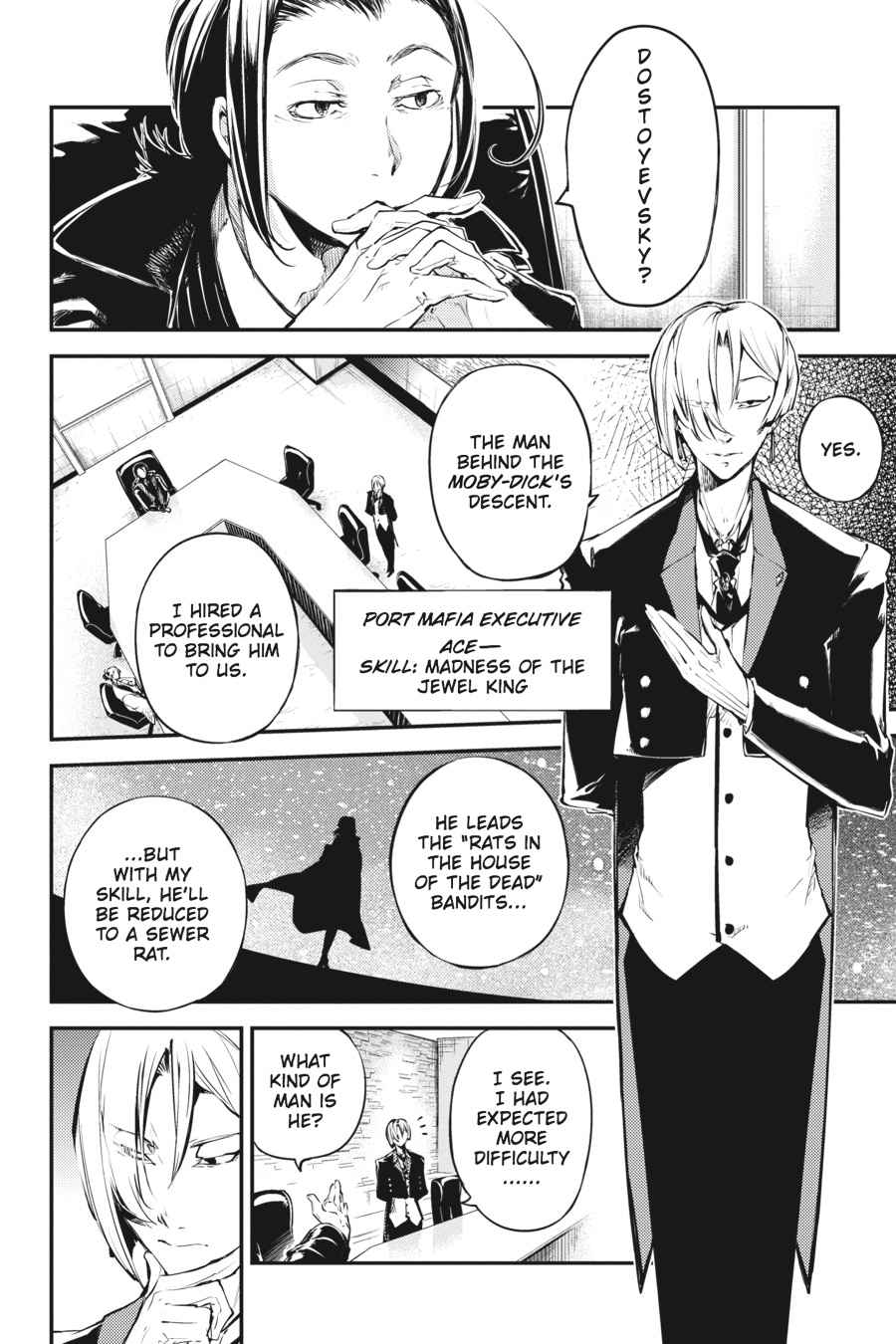 Bungou Stray Dogs Chapter 42 Page 2