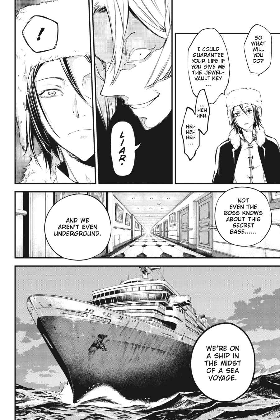 Bungou Stray Dogs Chapter 42 Page 24
