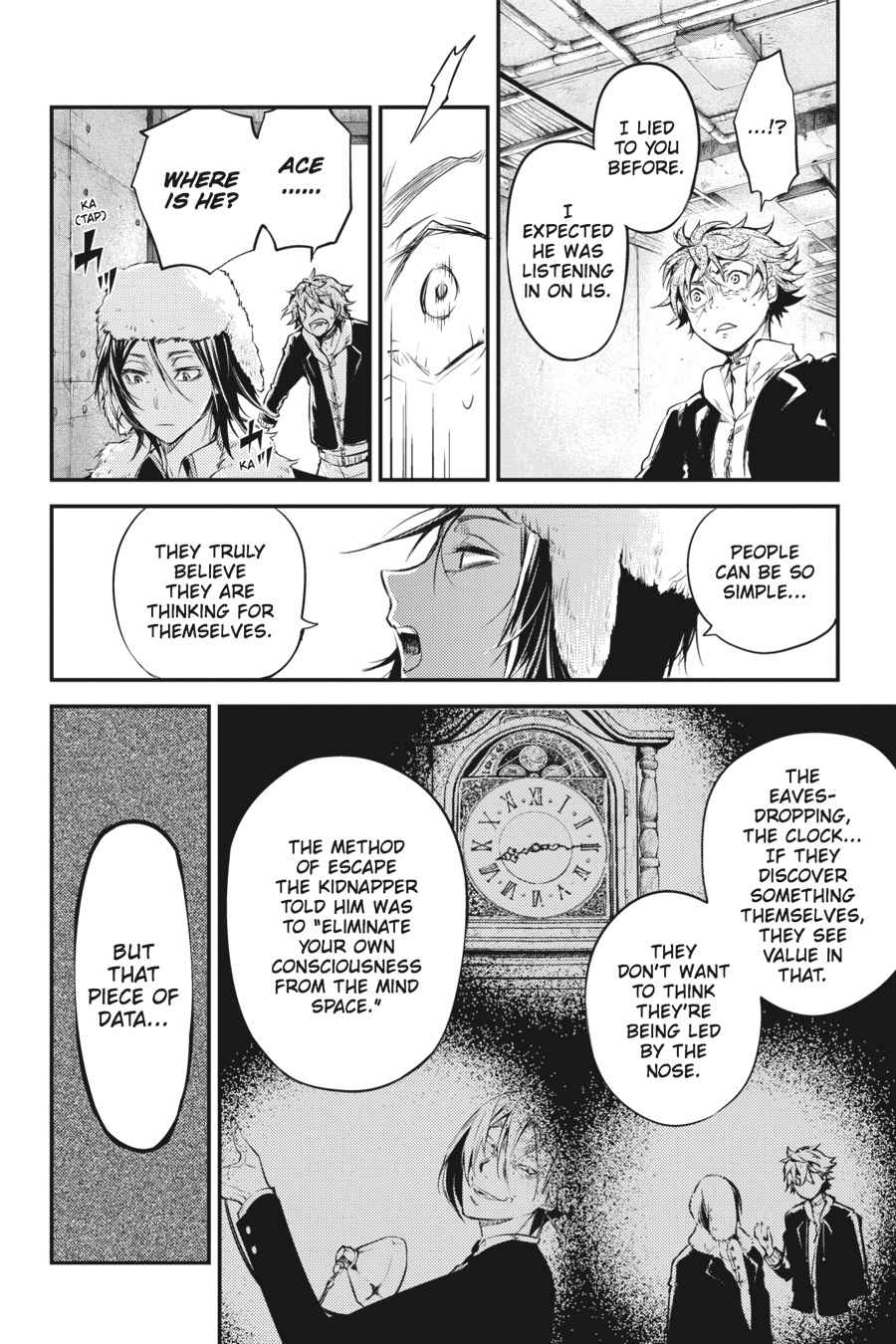 Bungou Stray Dogs Chapter 42 Page 32
