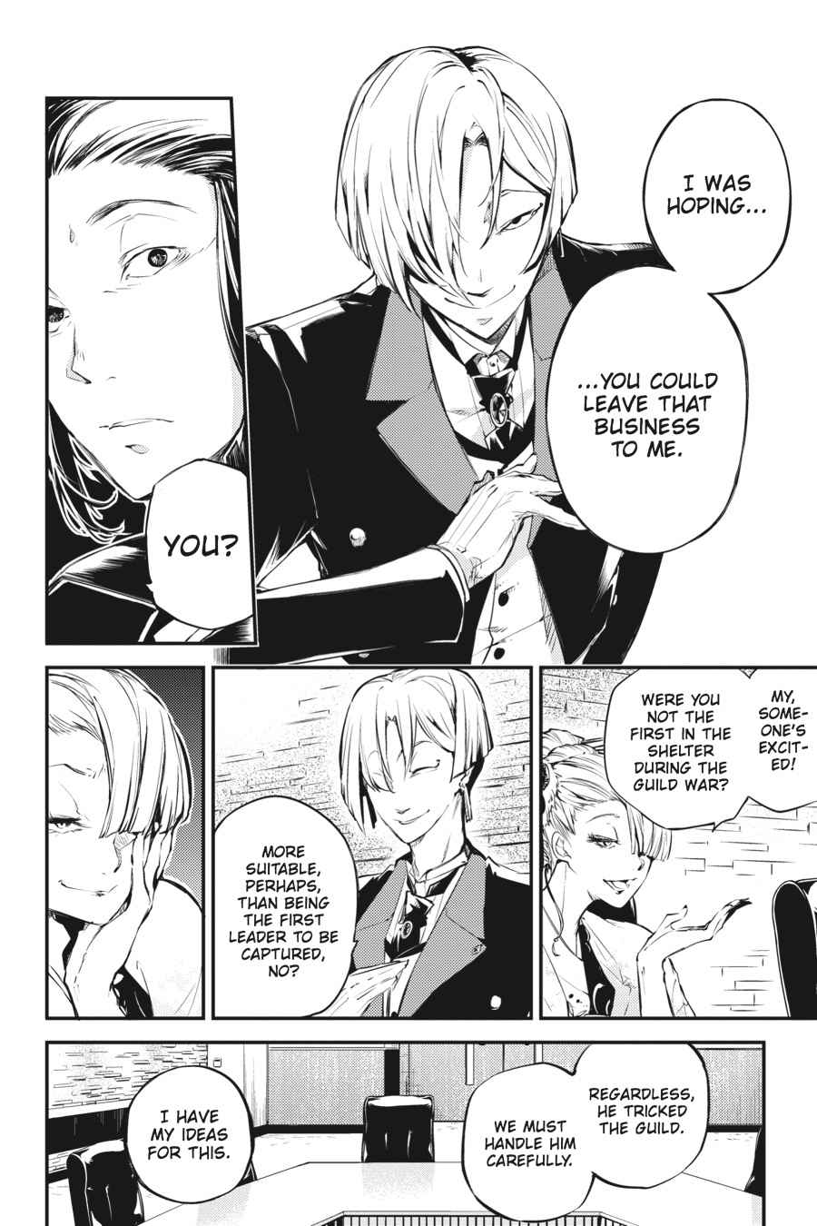 Bungou Stray Dogs Chapter 42 Page 4