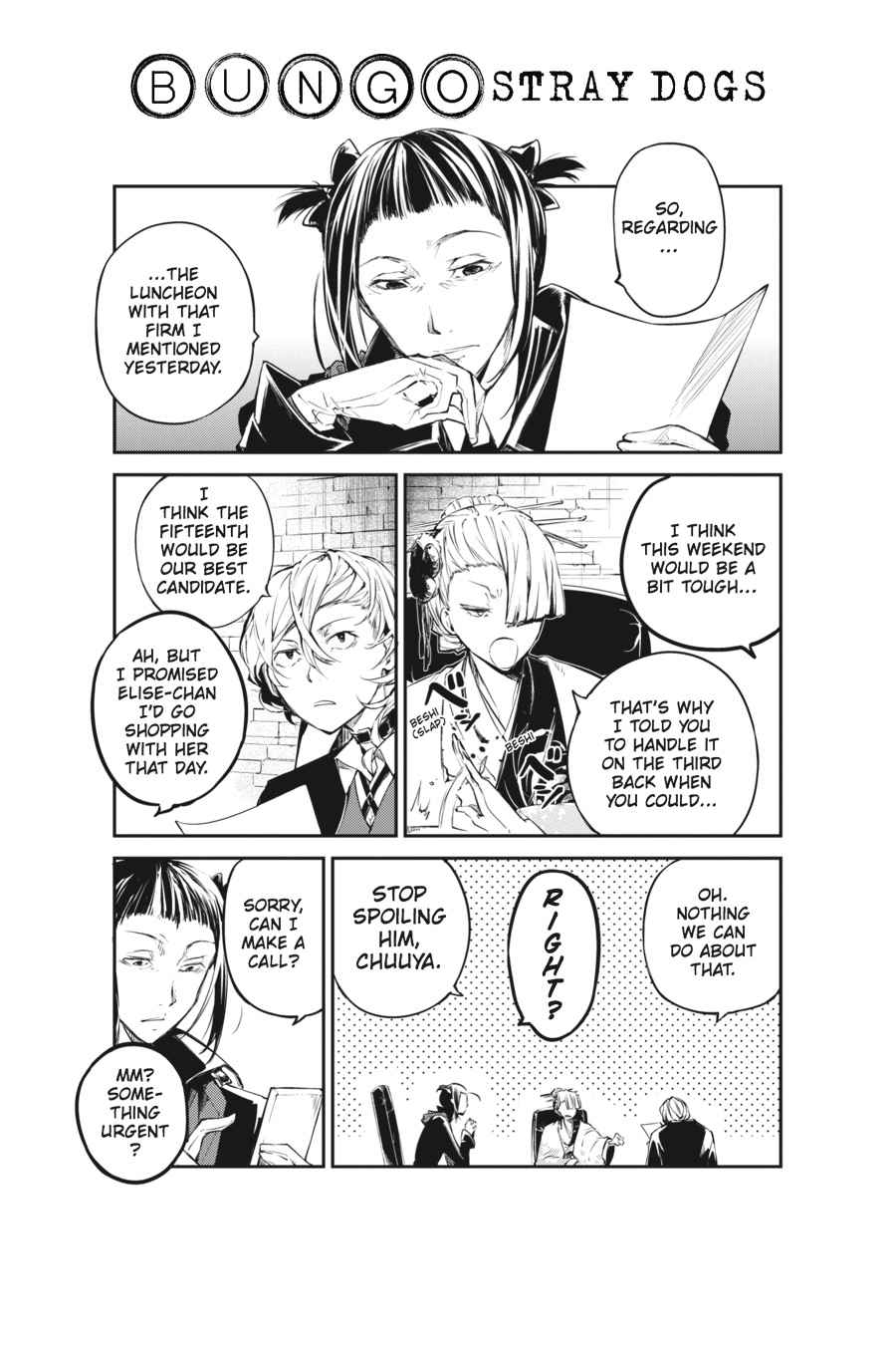 Bungou Stray Dogs Chapter 42 Page 45