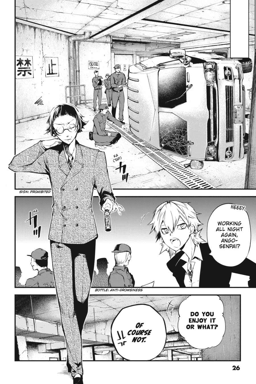 Bungou Stray Dogs Chapter 43 Page 26