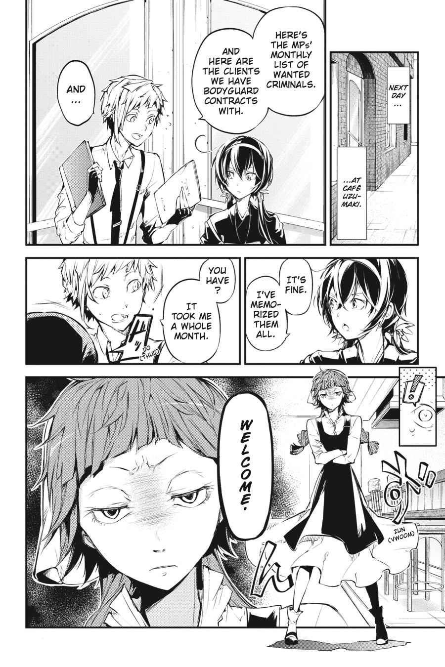 Bungou Stray Dogs Chapter 43 Page 8