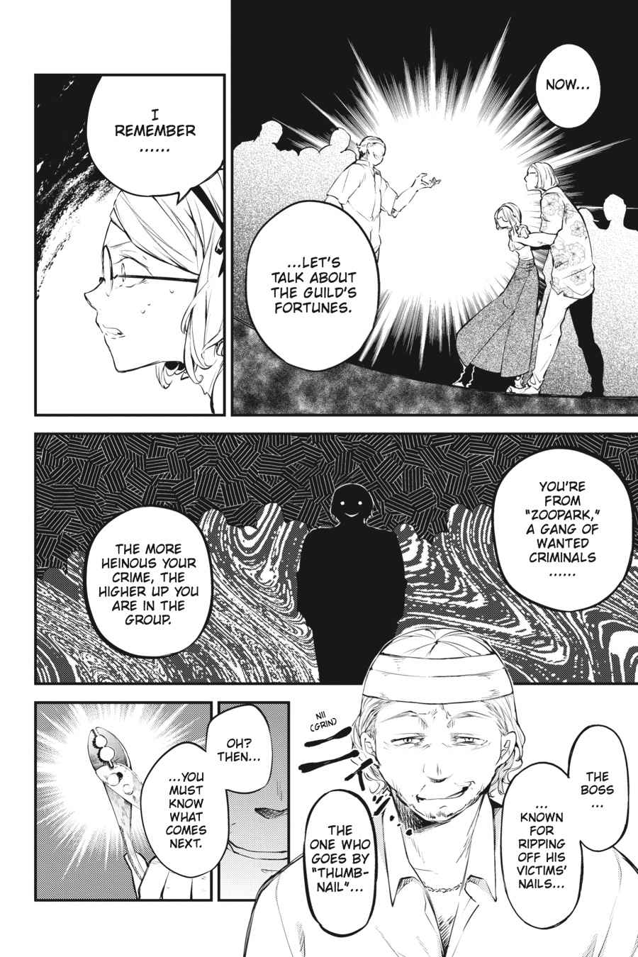 Bungou Stray Dogs Chapter 44 Page 21