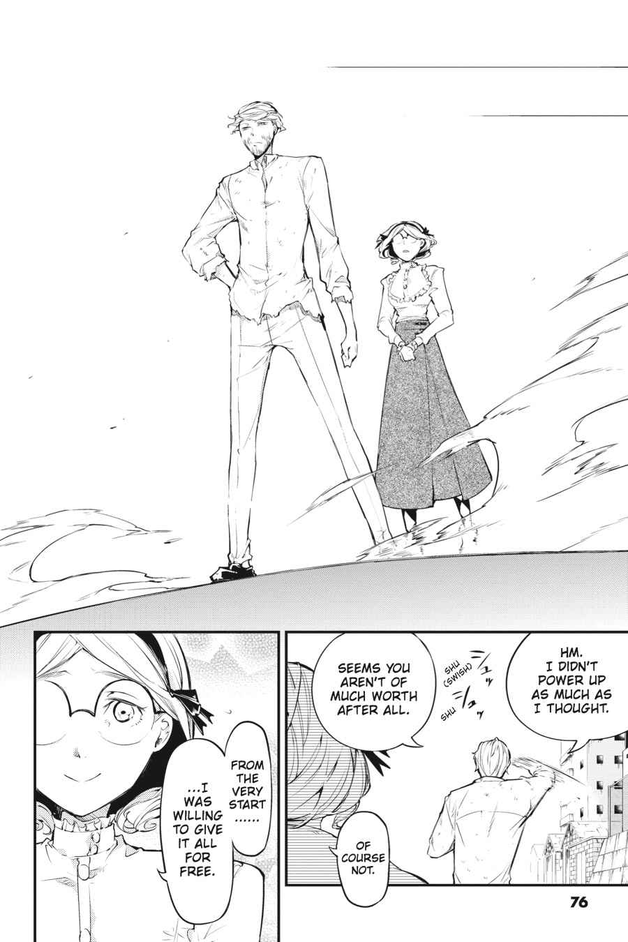 Bungou Stray Dogs Chapter 44 Page 31