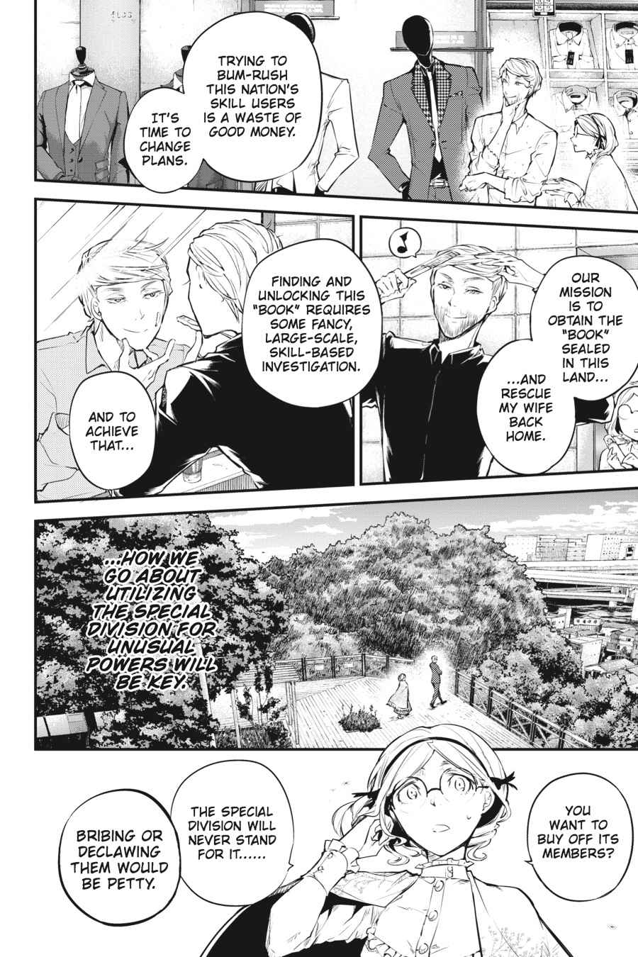 Bungou Stray Dogs Chapter 44 Page 33