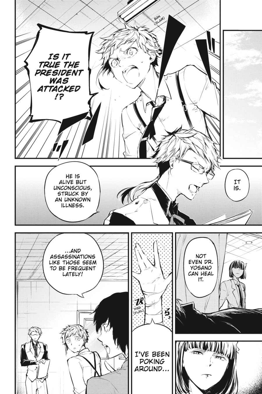 Bungou Stray Dogs Chapter 46 Page 8