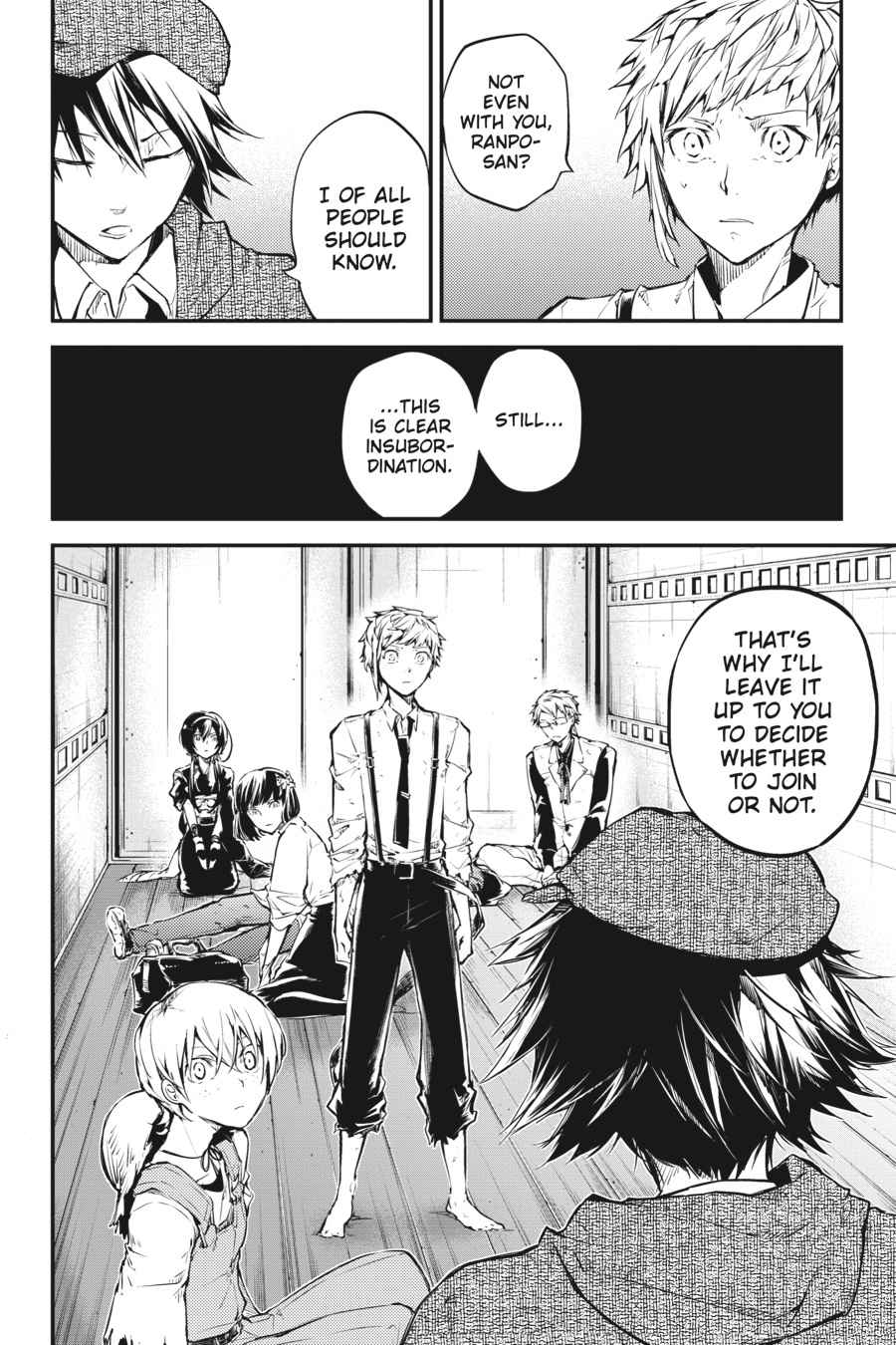Bungou Stray Dogs Chapter 48 Page 37