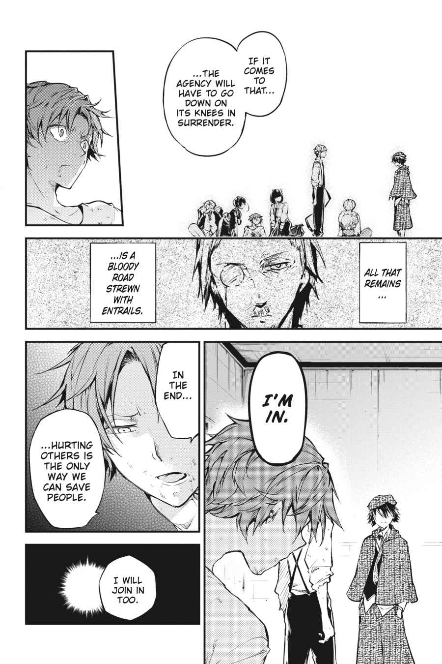 Bungou Stray Dogs Chapter 48 Page 39