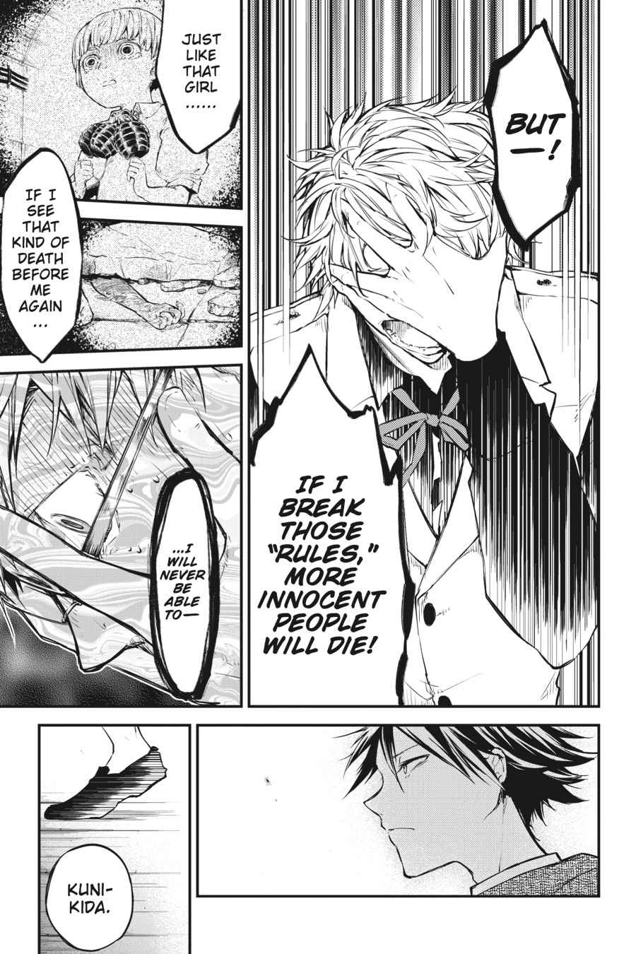 Bungou Stray Dogs Chapter 48 Page 42