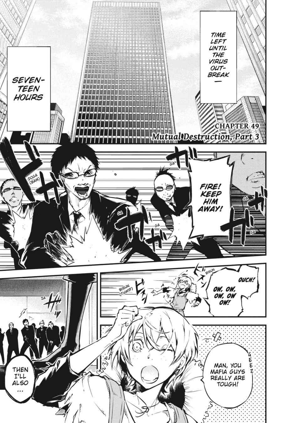 Bungou Stray Dogs Chapter 49 Page 1