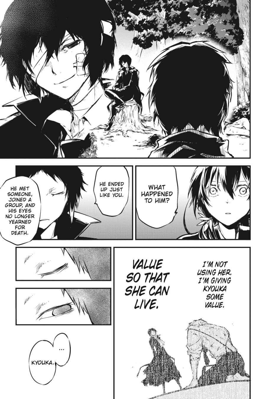 Bungou Stray Dogs Chapter 49 Page 38