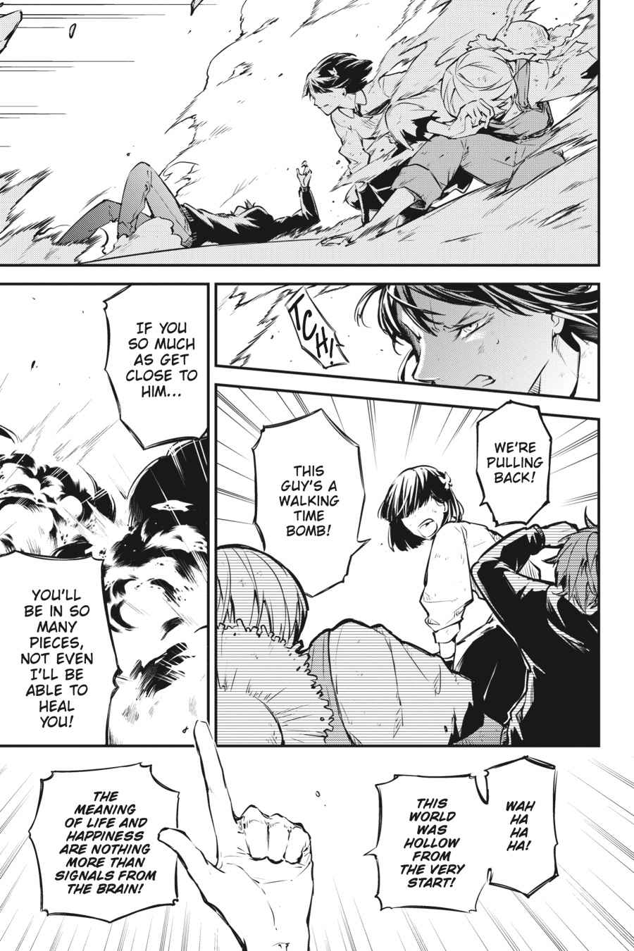 Bungou Stray Dogs Chapter 49 Page 44
