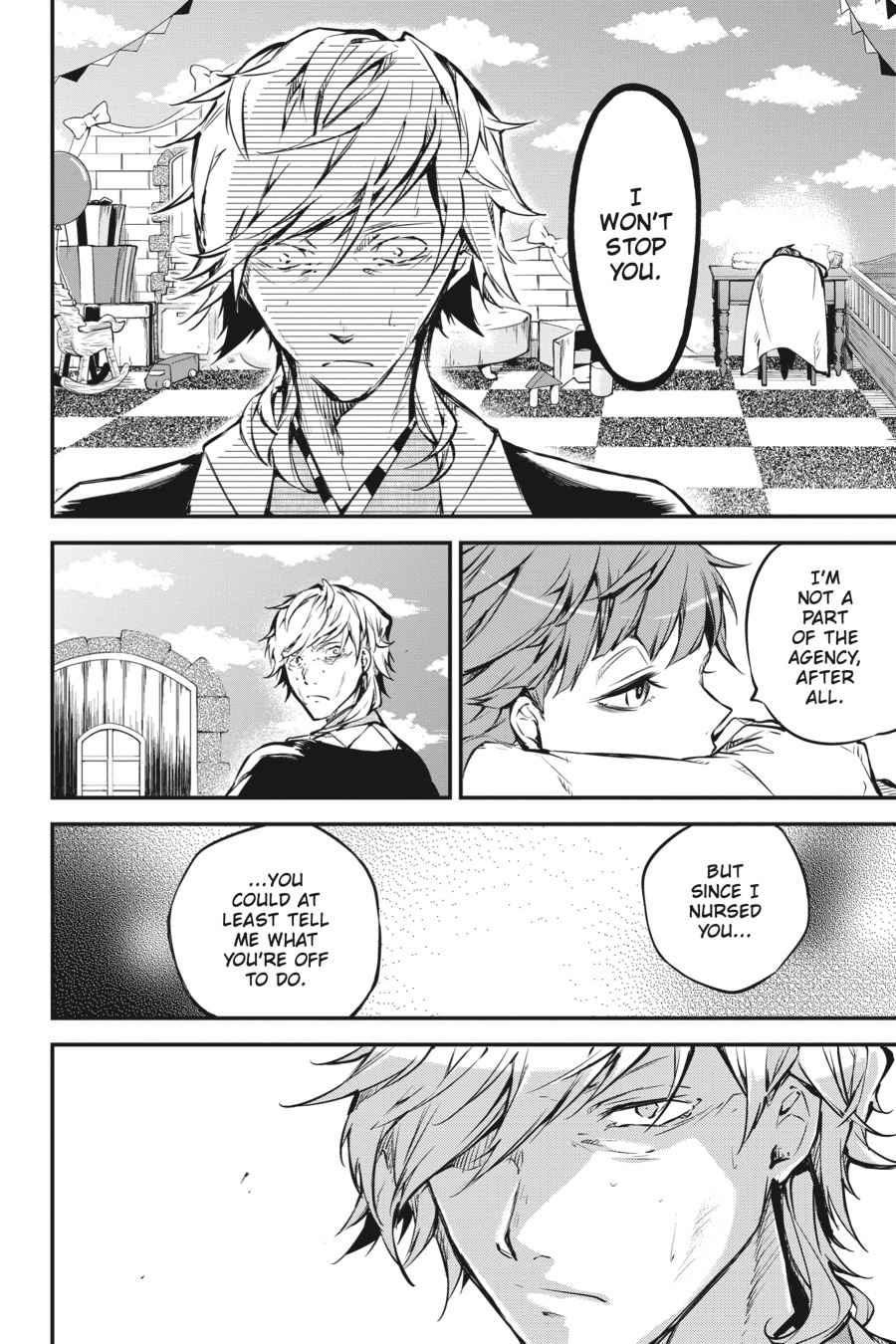 Bungou Stray Dogs Chapter 50 Page 2