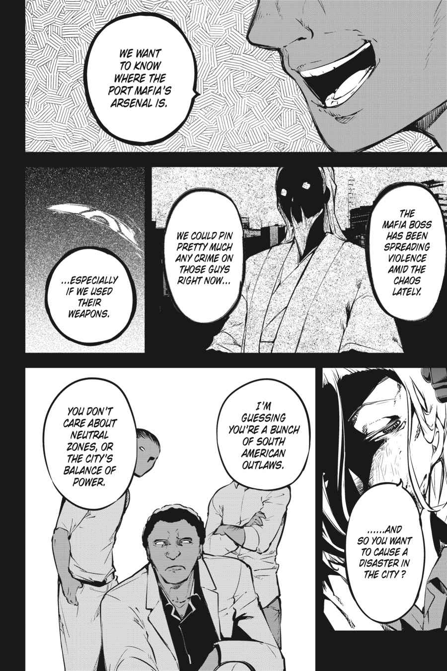 Bungou Stray Dogs Chapter 50 Page 24