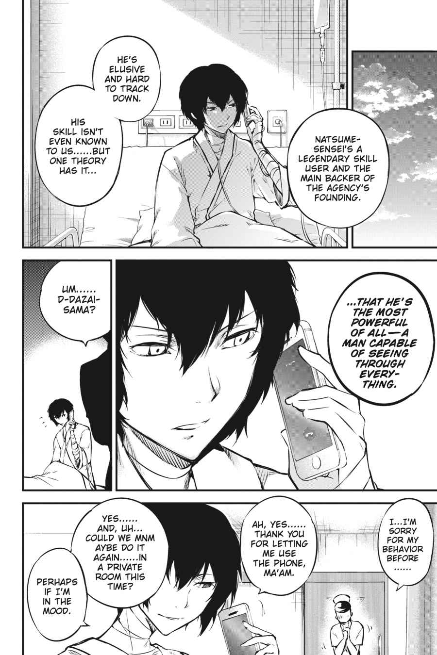 Bungou Stray Dogs Chapter 50 Page 30