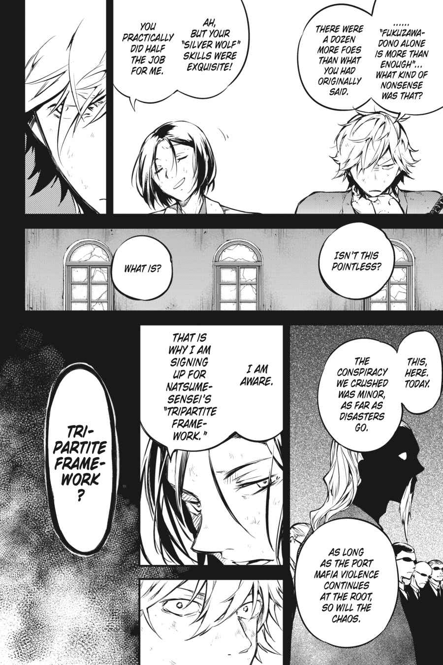 Bungou Stray Dogs Chapter 50 Page 32