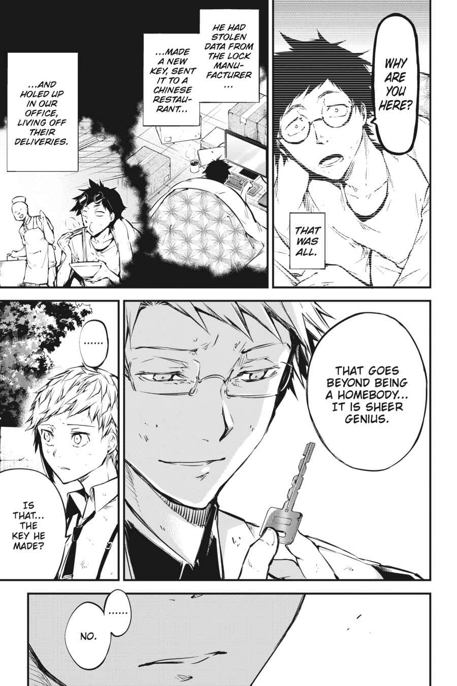 Bungou Stray Dogs Chapter 50 Page 40