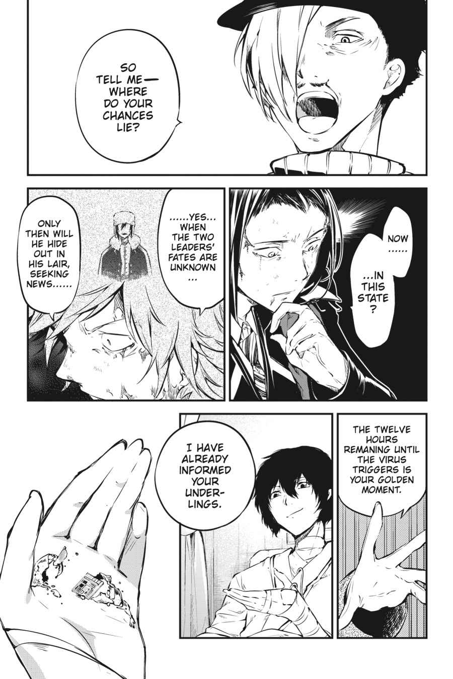 Bungou Stray Dogs Chapter 50 Page 47