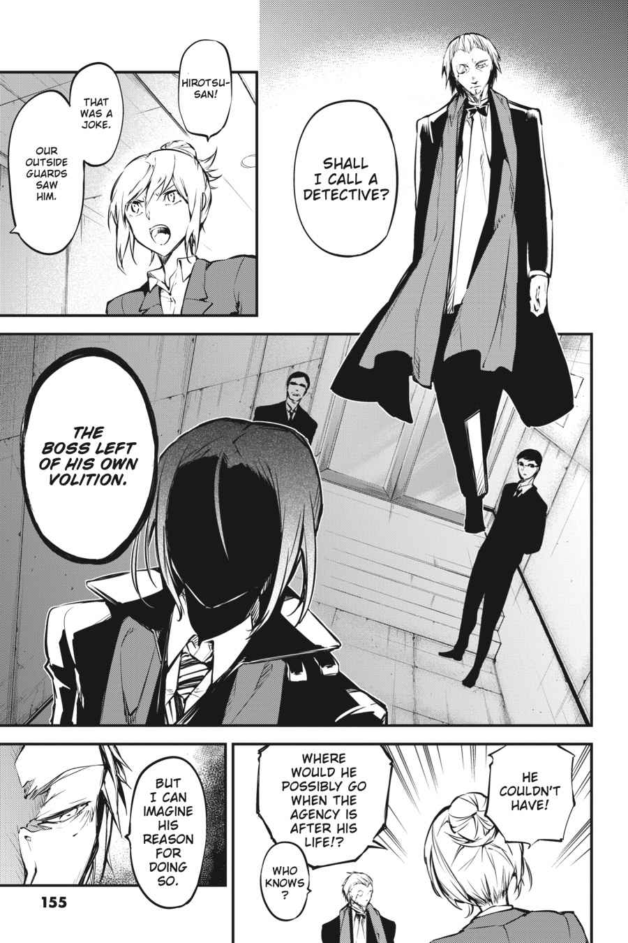 Bungou Stray Dogs Chapter 50 Page 5