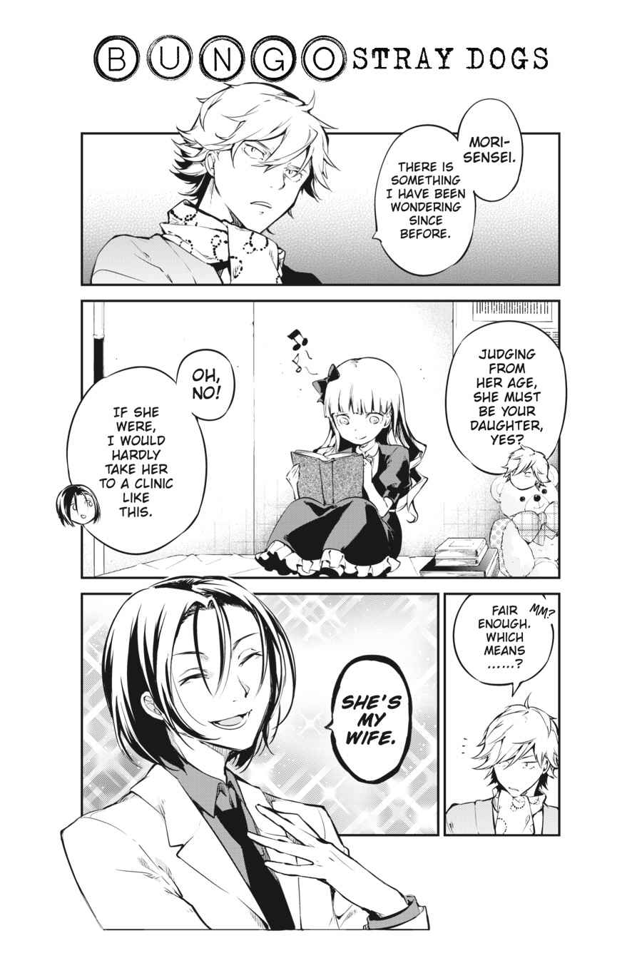 Bungou Stray Dogs Chapter 50 Page 50