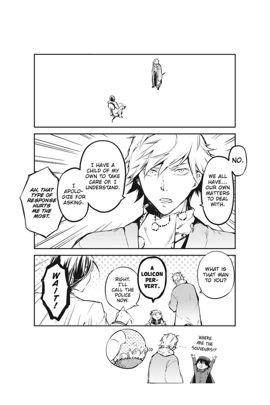 Bungou Stray Dogs Chapter 50 Page 51