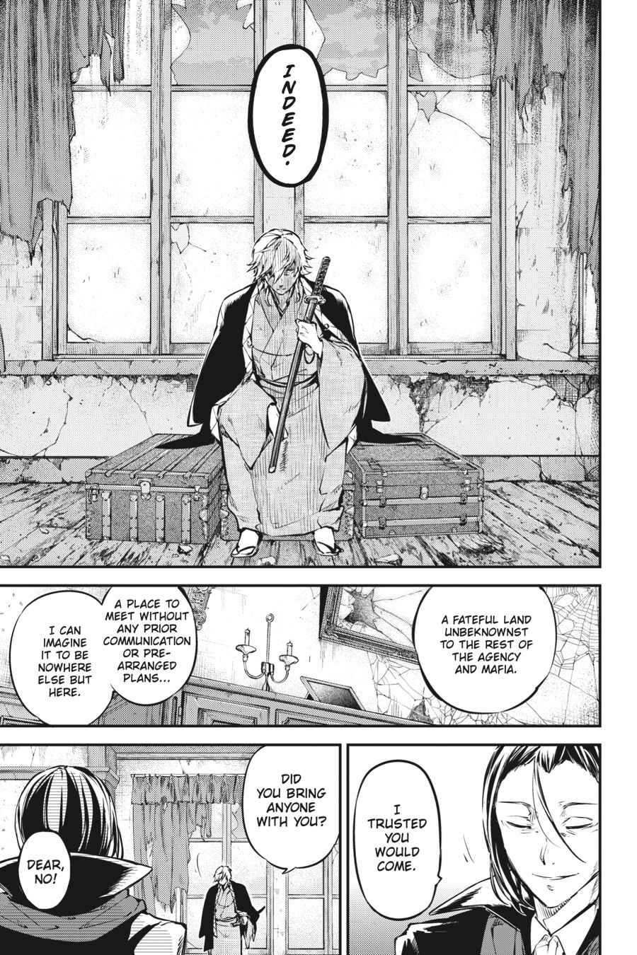 Bungou Stray Dogs Chapter 50 Page 7