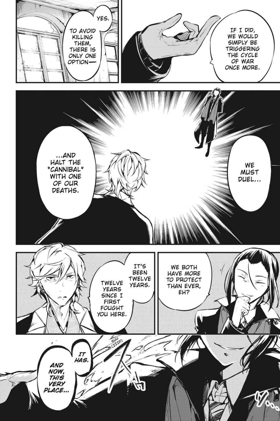 Bungou Stray Dogs Chapter 50 Page 8