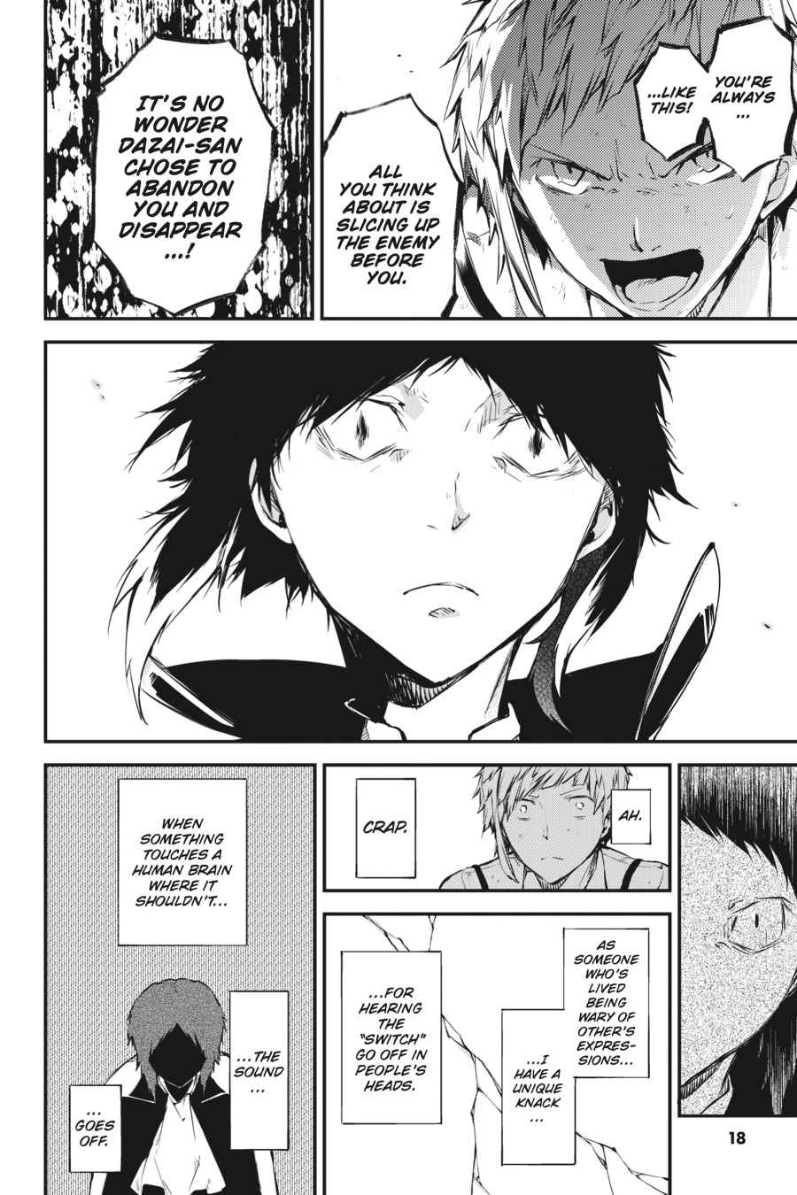 Bungou Stray Dogs Chapter 51 Page 18