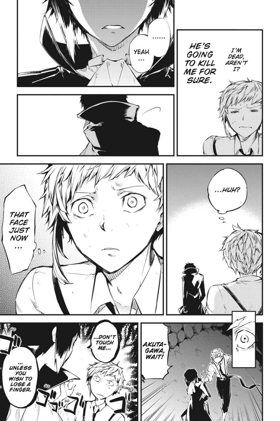 Bungou Stray Dogs Chapter 51 Page 19
