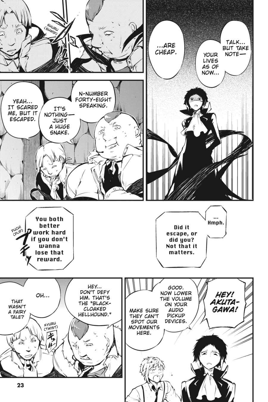 Bungou Stray Dogs Chapter 51 Page 23