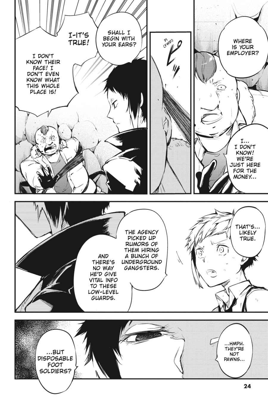 Bungou Stray Dogs Chapter 51 Page 24