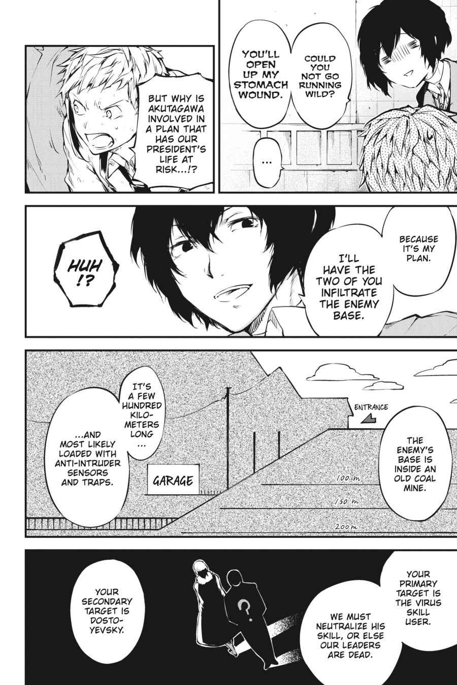 Bungou Stray Dogs Chapter 51 Page 6