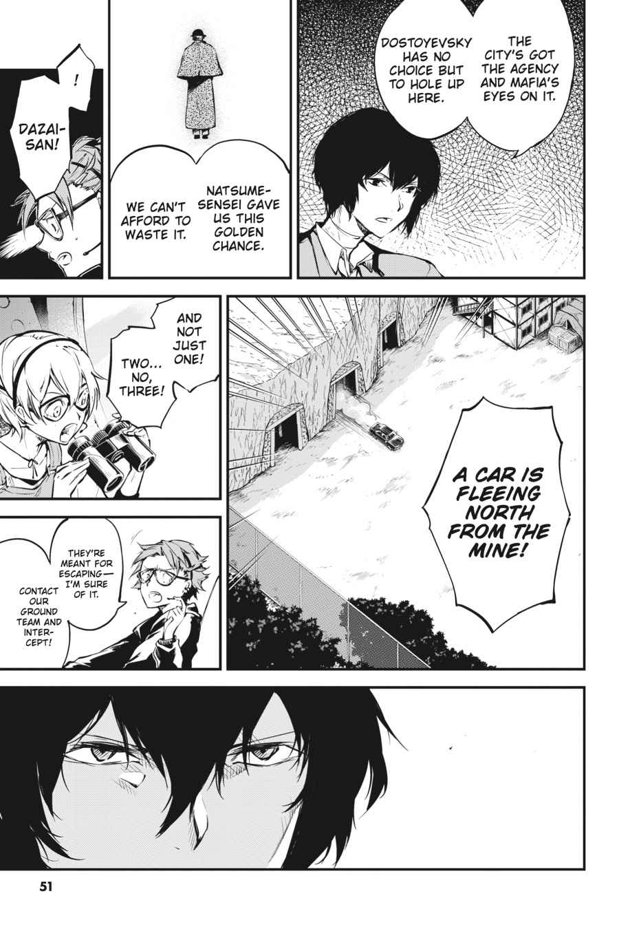 Bungou Stray Dogs Chapter 52 Page 13