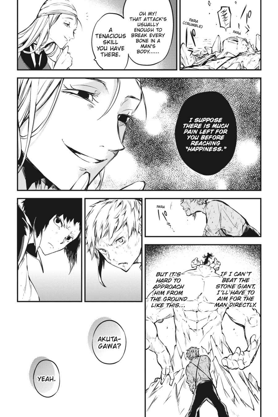 Bungou Stray Dogs Chapter 52 Page 19